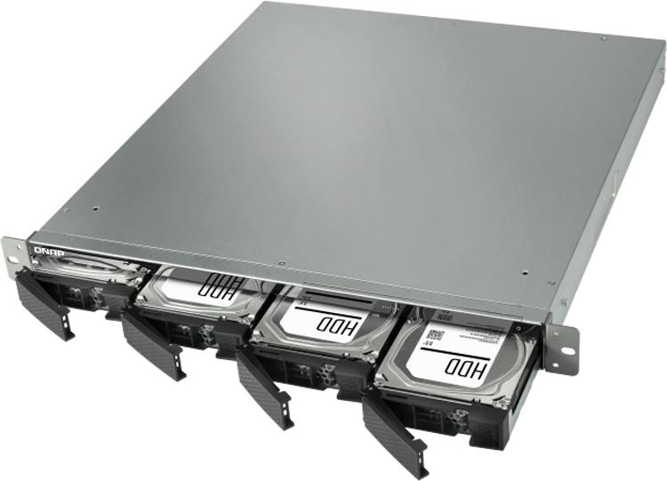 Возможно установить 4 диска формата 3,5 и 5 формата 2,5